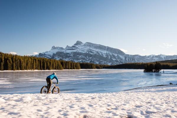 辺り一面、雪景色