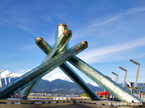 2010年バンクーバー冬季オリンピック聖火台